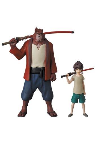 El niño y la Bestia [Bakemono No Ko] Anime Figuritas 110mm (Kumatetsu) 63mm (Ren Kyuuta)