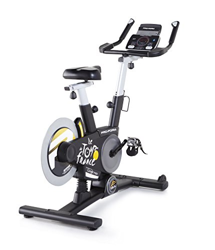 ProForm Indoorcycling -TDF 1.0 Le Tour de France , 26 Gänge,24 Etappen der Tour de France als Workout ,+15% Steigung/-15% Gefälle-PFEVEX71316