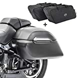 Set Alforjas rigidas + Bolsas Interiores para Keeway Superlight 125 K3