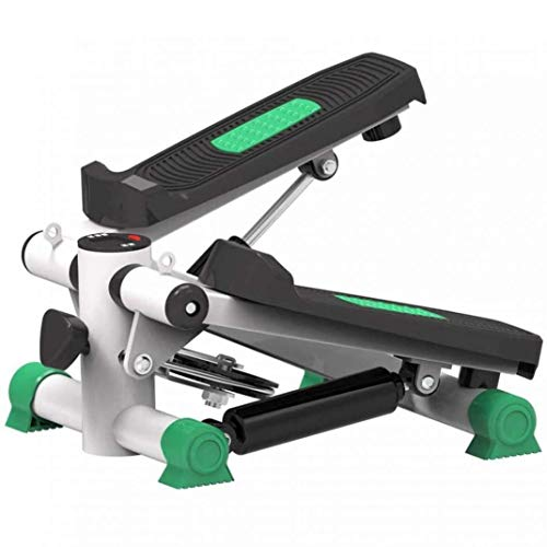 RUIXFFT Kompakter Swing Stepper, Up-Down Stepper, Ausdauertraining, Step Machine Twister Stepper Kalorien verbrennen Haushalts-Fitnessstudio, Green