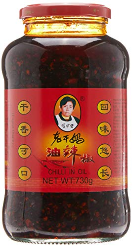 LGM Hot Chilisauce in Soybean 730 g (Hot Chili-Peatnut 730 g)