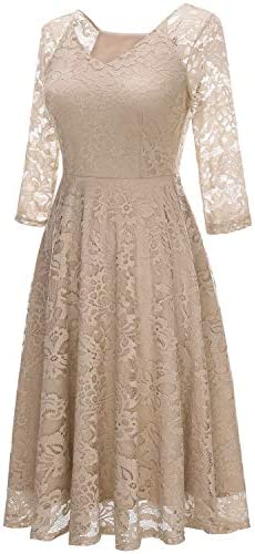 Champagne dress for wedding guest _image2