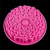 Fewear Molde de silicona para tartas de 224,5 cm, diseño de girasoles