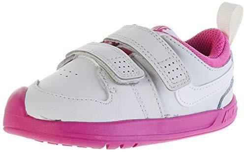 Nike Pico 5 (TDV), Scarpe da Ginnastica Unisex-Bambini, Grigio (Platinum Tint/White/Active FUC 016), 22 EU
