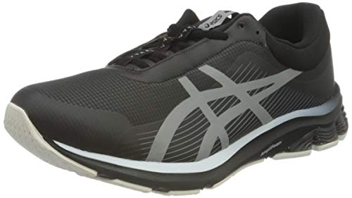 ASICS Herren Gel-Pulse 12 AWL Running Shoes, Schwarz Grau Weiß, 43.5 EU