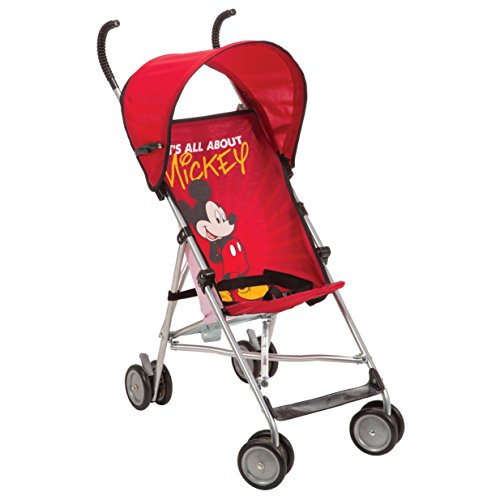 Disney Umbrella Stroller With Canopy - All About Mickey Red Mickey Pattern by Safety 1st