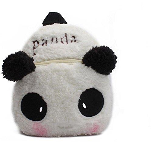 Winkey Sac à Dos d'École Mignon Dessin Animé Animal pour Enfant Bébé Fille Garçon Panda 20x24cm wide 20cm x height 24cm