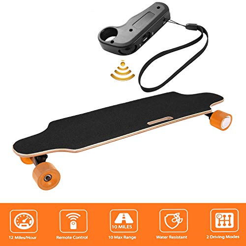 Aceshin Electric Skateboard with Wireless Remote Control for Adults Teens Youths 250W Motor 12 MPH...