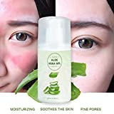 URMAGIC 100 MLNatural Facial Aloe Gel Summer Sun Repair Gel Face Hair Hand Moisturizing Skin Care Smooth Lightening Acne
