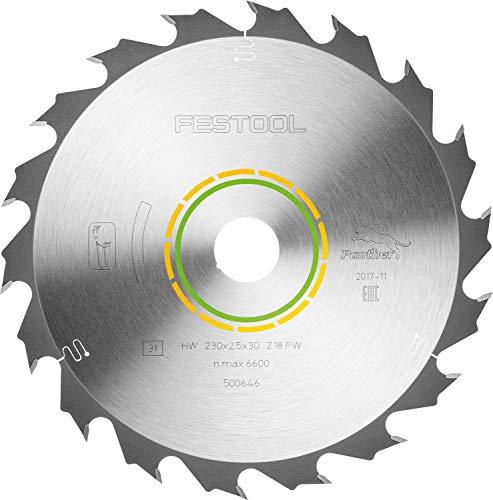 Festool 500646 Kreissägeblatt HW 230x2,5x30 PW18