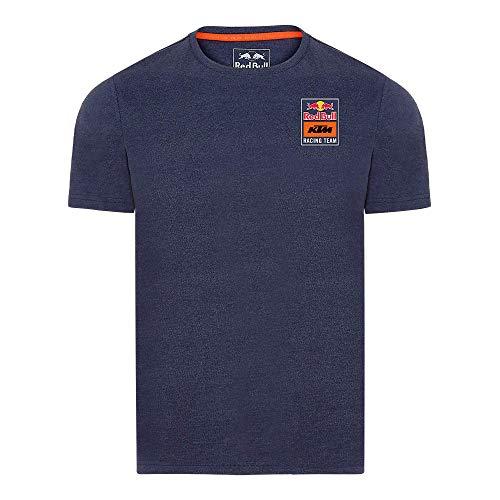 Red Bull KTM Patch T-Camisa, Azul Hombres X-Large Camisa Manga Larga, KTM Racing...