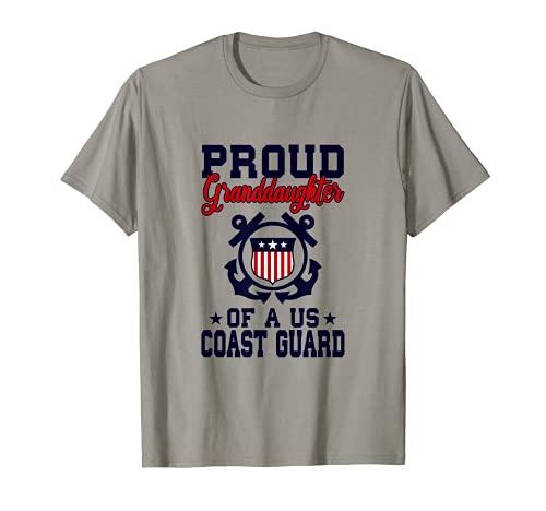 Nieta de la Guardia Costera de Estados Unidos Camiseta