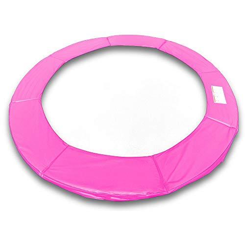 ms point Randpolsterung Gepolsterte Federabdeckung Rahmenpolsterung für 400cm Trampoline Breite 23cm Stärke 18mm in Pink