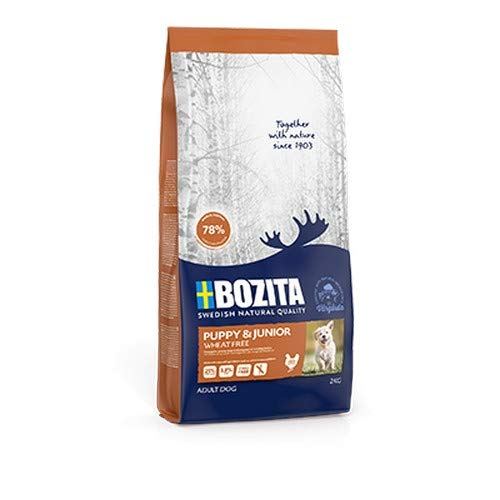 Bozita Puppy & Junior Wheat Free - Weizenfrei für Welpen, 2 kg