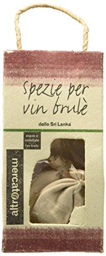 Altro mercato Spezie per Vin Brûlé' in Sacchetti Cotone - 6 confezioni da 3 pezzi da 2.7 g [18 pezzi, 48 g]