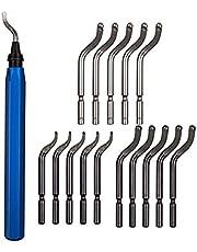 15 stks Metalen Reparatie Deburring Tool Kit Bit Rotary Deburr Blades Remover Deburring Tool Set Fit voor hout Koper en staal # 30