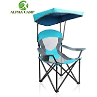 Alpha Camp Heavy Duty Canopy Lounge Chair