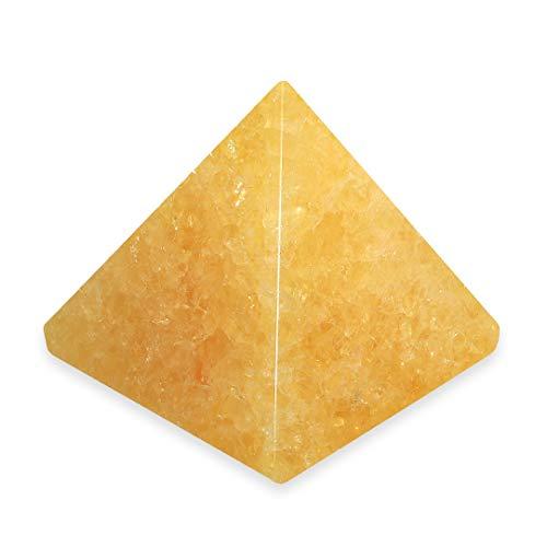 Naranja Calcita pirámide–Mini–yco2