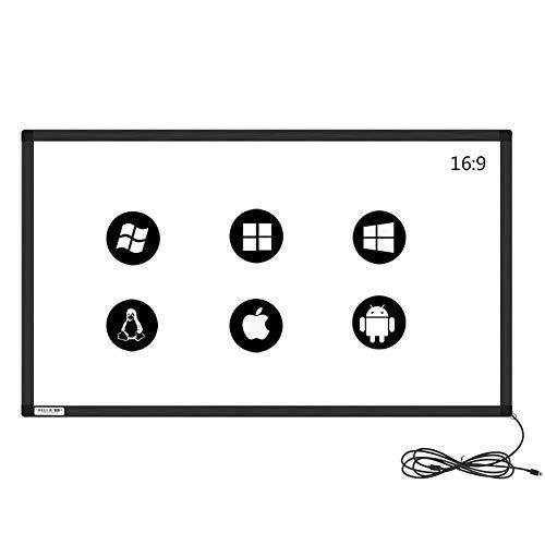 GreenTouch 40 Zoll Multi-Points IR Touch Overlay, Infrarot-Touch-Rahmen, mit USB-Schnittstelle für, TV, Monitor