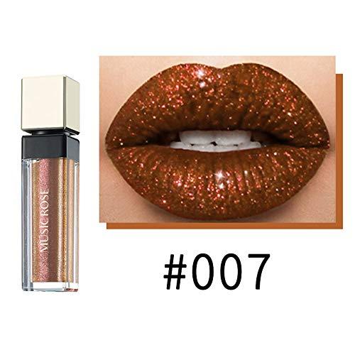 Lippenstift, Lipgloss, 6 Farben Matte Liquid Lipstick + 6 Farben Schimmer Glitter Lippenstift,...