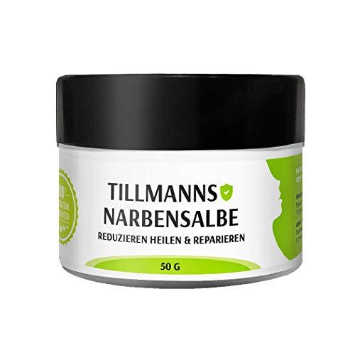 Narbencreme Narbensalbe Hochwirksam Reduzieren Heilen & Reparieren für Gesicht und Körper auch bei Aknenarben 100% natürlich 100% Vegan