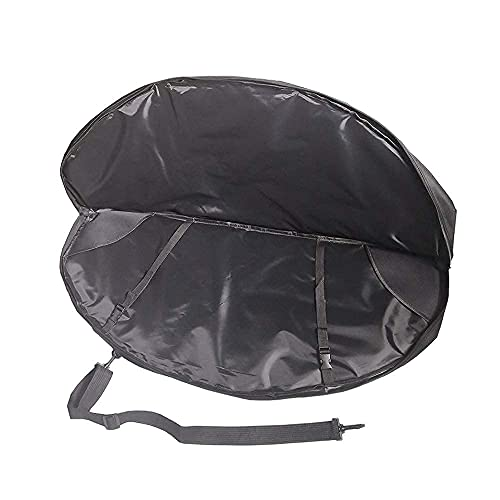DarkForest BC-3 Black Lightweight Soft Bow Case for Compound Bow Models as Size Chart Showing
