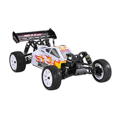 BEESCLOVER per Ragazzi Bambini Uomini Outdoorliving ZD Racing 9102 10421 - S 1/10 Off-road RC 4WD Brush-less Veicolo Bambini Simulazione Auto bianco