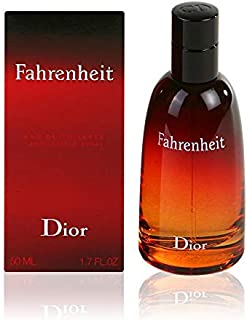 Fahrenheit By Christian Dior For Men. Eau De Toilette Spray 1.7 Ounces