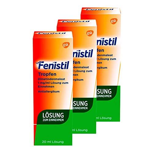 Fenistil Tropfen, 3X20 ml