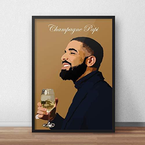 Drake Poster, Drake Print Wall Decor Poster No Frame(27x40)