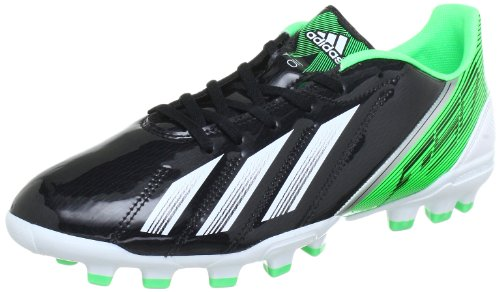 adidas F10 TRX AG, Botas de fútbol Hombre, Black-Schwarz (Black 1 / Running White FTW/Green Zest S13), 40 2/3