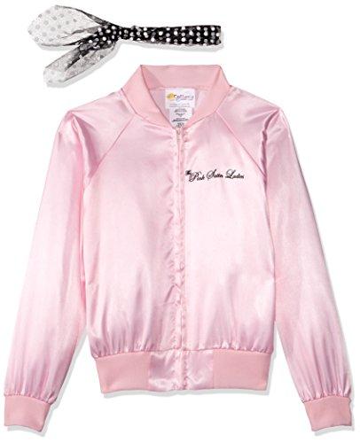 California Costumes The Pink Satin Ladies Child Costume, Large