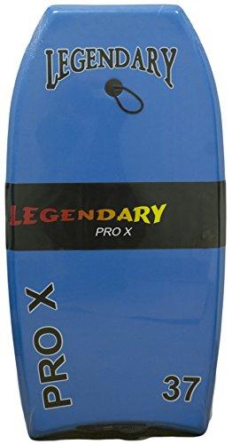 Legendary Pro X Slick Bottom Hard Bottom Body Surfing Board (Lt. Blue/...