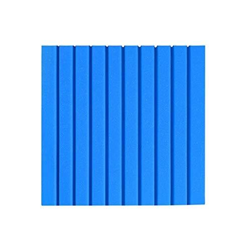 30 STKS Kleuterschool Anti-botsing Muurstickers, Kleur Spons Behang Vochtbestendig Draagbare Akoestische Panelen Blauw