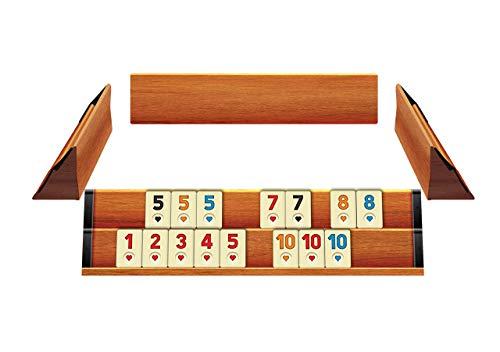 KS Games T95-Rummy, Romme aus Holz, Ahsap Okey Set