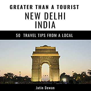 Greater Than a Tourist - New Delhi India audiobook cover art