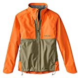 Orvis Men's Upland Hunting Softshell Jacket, Tan/Blaze, X Large