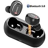 Vobon Bluetooth Kopfhörer kabellose Mini In Ear Sport Ohrhörer Wireless Headset mit...