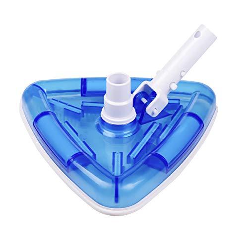 Sea-Thru Triangle Weighted Pool and Spa Vacuum Head