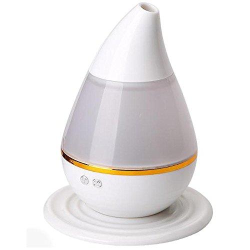 ASdf Humidificador del Aroma del Aire del USB del Humectador del Ultrasonido del Coche con El Difusor Eléctrico del Aroma del Aceite Esencial del Aromatherapy De Las Luces De 7 Colores