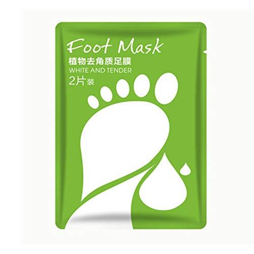 Onkessy Foot Peel Mask Peeling Away Callosités et cellules mortes de la peau Skin Heel Peeling Foot Care Make Your Feet Baby Soft for All