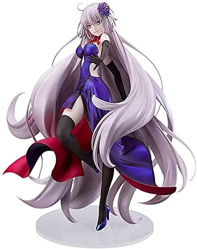 Fate/Grand Order Figura de Juana de Arco, Personajes de dibujos animados, Personajes de anime, Decoracin de escritorio, Modelo de estatua, Coleccin de juguetes 26 cm