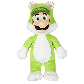 World of Nintendo Mario Bros U Cat Luigi Plush