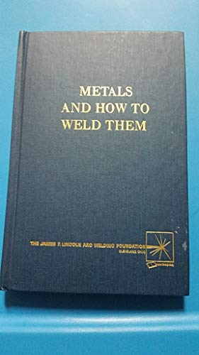 Price comparison product image Metals and How To Weld Them