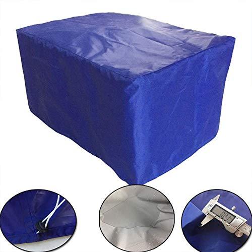 DAGUAI Oxford Tela Muebles de jardín al Aire Libre de Polvo Impermeable Tabla de la Cubierta y sillas de jardín Cubierta de la máquina de protección Solar 123 * 123 * 74