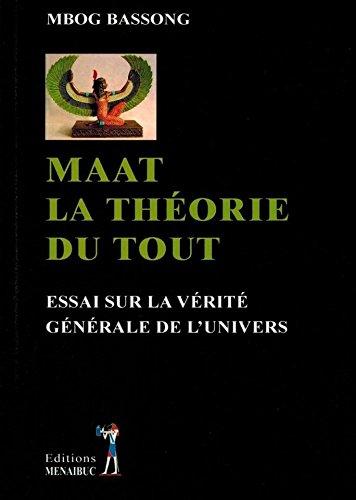 Maat die Theorie von allem Essay über die allgemeine Wahrheit des Universums
