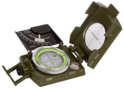 Levenhuk Brújula Táctica Líquida Army AC20 con Mirilla de
