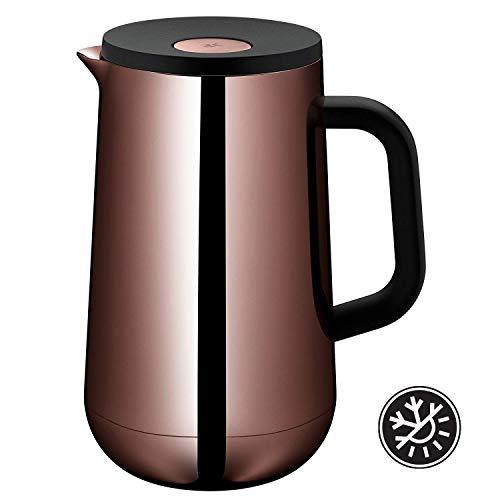 WMF Thermoskan Impulse Vintage koper, 1,0 l, voor thee of koffie, druksluiting houdt dranken 24 uur koud en warm