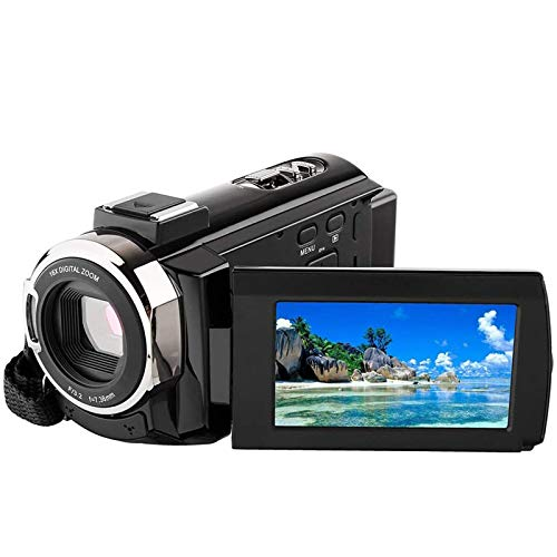 ZCFXGHH 4K 1080P 48MP WiFi Digital Video Camera Camcorder Recorder Capacitive Touchscreen IR Infrared Night Sight Digital Camera,Best Gift for Family, Friends