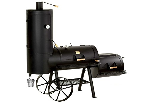 "41OHsA7G39L - Joe's Barbeque Smoker 20"" Chuckwagon Catering"